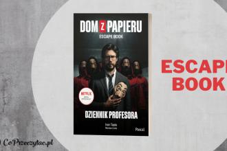 Książka Dom z papieru Dziennik profesora - nowy escape book