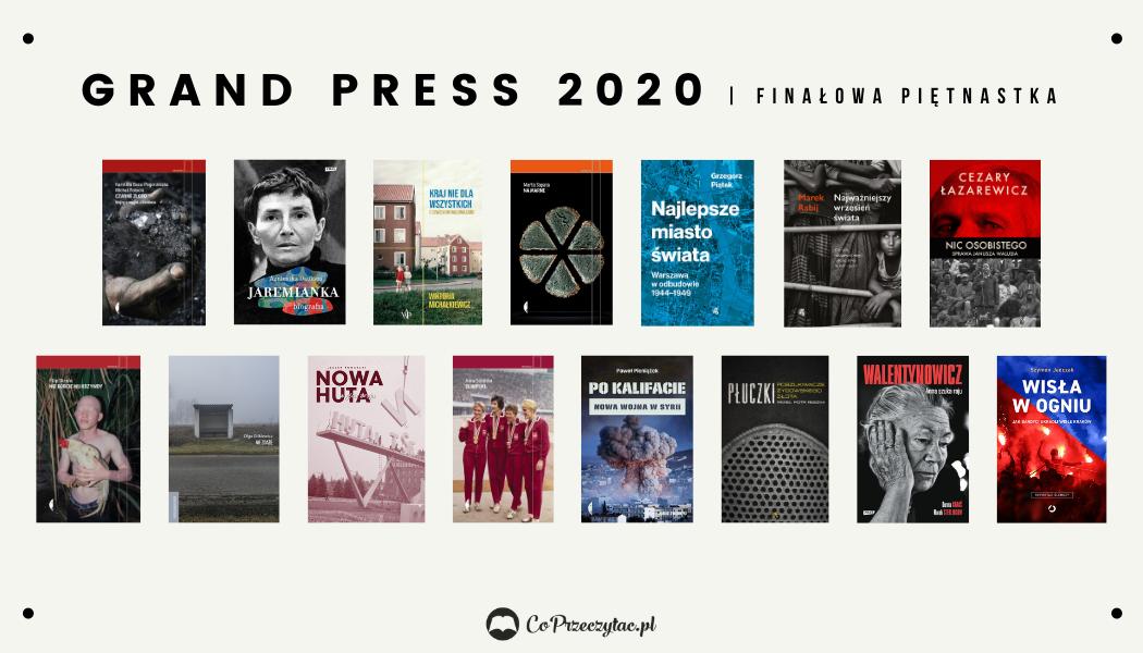 Finał Grand Press 2020 - finaliści