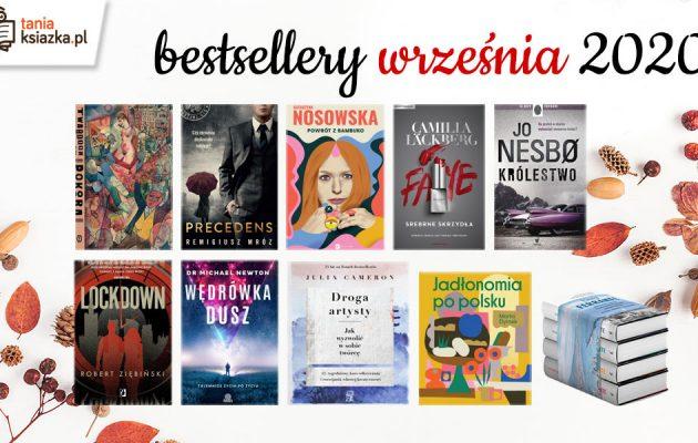 Bestsellery września w TaniaKsiazka.pl