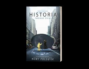 Historia twojego życia - okładka książki