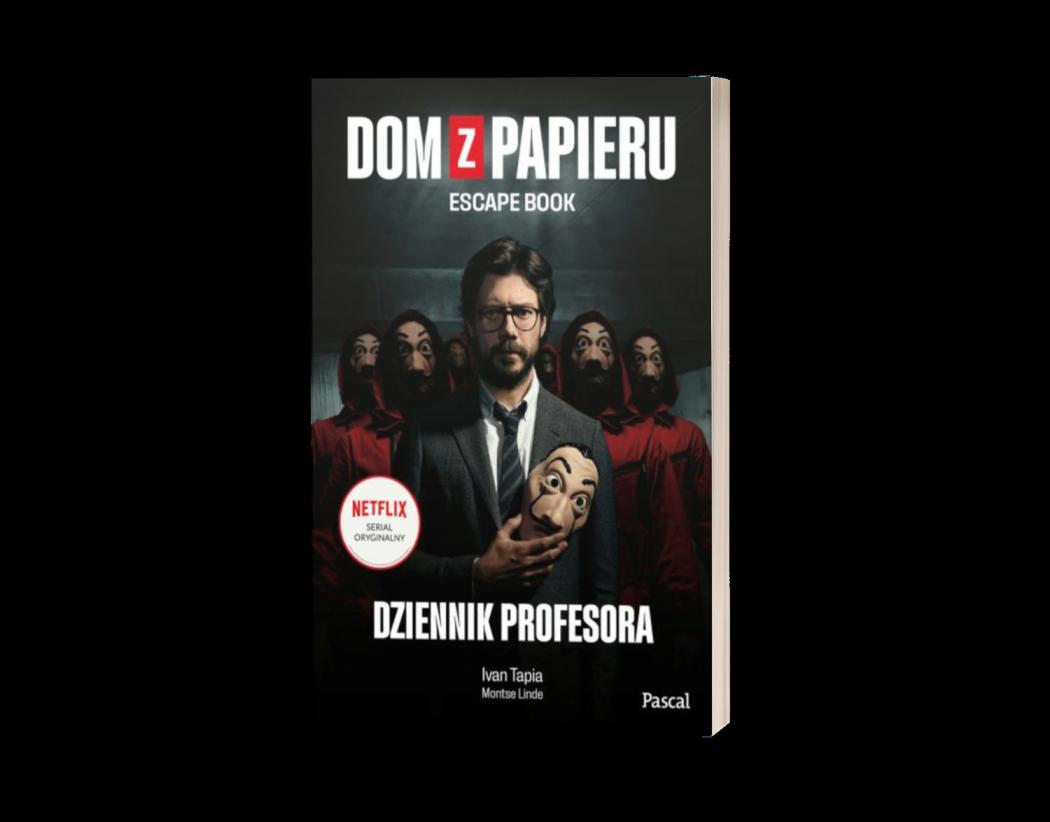 Dom z papieru. Escape Book Sprawdź na TaniaKsiazka.pl >>