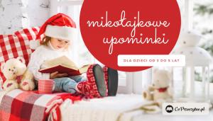 Książkowe mikołajki – prezenty dla dzieci 3-5 lat