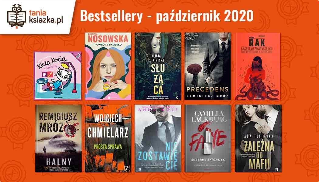 Bestsellery października w TaniaKsiazka.pl