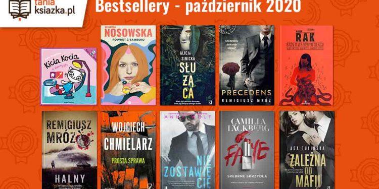 Bestsellery października w TaniaKsiazka.pl Bestsellery października