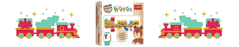 Zabawka drewniana. Edu Ciuch Ciuch Sprawdź na TaniaKsiazka.pl >>