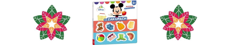 Disney Maluch. Na zakupach. Puzzle dla małych bystrzaków Sprawdź na TaniaKsiazka.pl >>