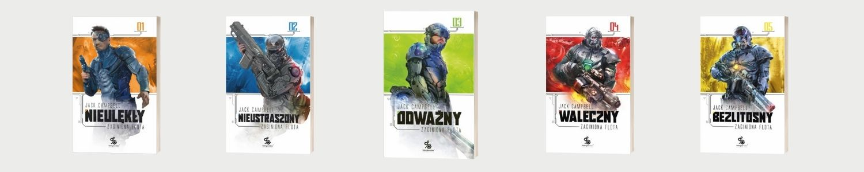 Science fiction od Fabryki Słów - Seria Zaginiona flota