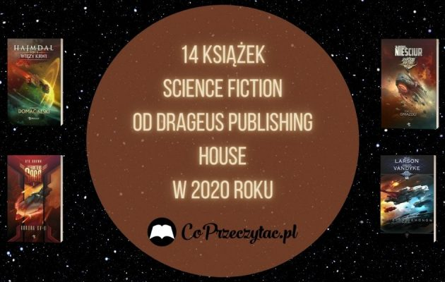 14 książek science fiction od Drageus Publishing House w 2020 roku Drageus Publishing House