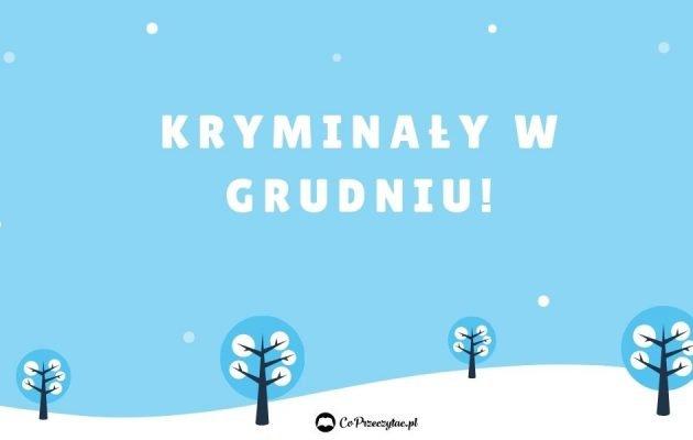 Kryminały w grudniu - sprawdź na TaniaKsiazka.pl