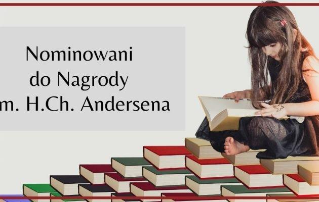 Nominowani do Nagrody im. H. Ch. Andersena Marcin Szczygielski i Iwona Chmielewska