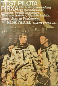 Test pilota Pirxa - plakat filmu