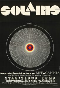 Adaptacje książek Stanisława Lema - Solaris, plakat filmu