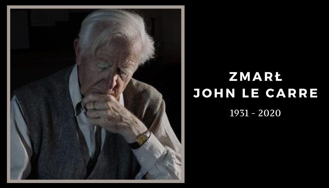 Zmarł John Le Carre Szukaj jego książek na TaniaKsiazka.pl >>