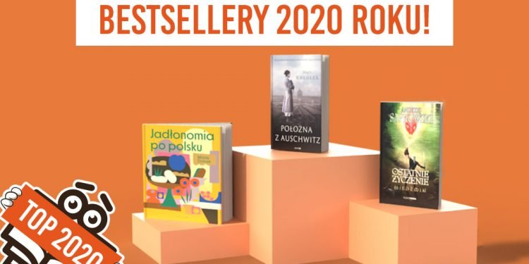 Książkowe bestsellery 2020 TaniaKsiazka.pl