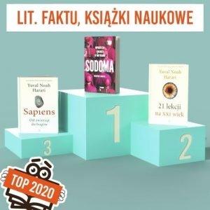 Książkowe bestsellery 2020 TaniaKsiazka.pl - lit. faktu i książki popularnonaukowe