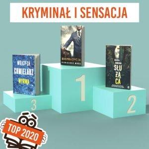 Książkowe bestsellery 2020 TaniaKsiazka.pl - kryminał i sensacja