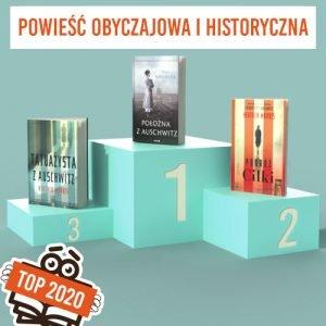 Książkowe bestsellery 2020 TaniaKsiazka.pl - powieść obyczajowa i historyczna