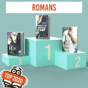 Bestsellery 2020 roku - kategoria romans