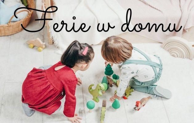 Ferie w domu - polecamy książki i gry dla dzieci Ferie w domu