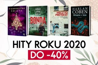 Książkowe hity roku 2020