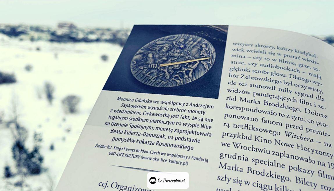 Recenzja książki Wiedźmin historia fenomenu, którą znajdziesz na TaniaKsiazka.pl