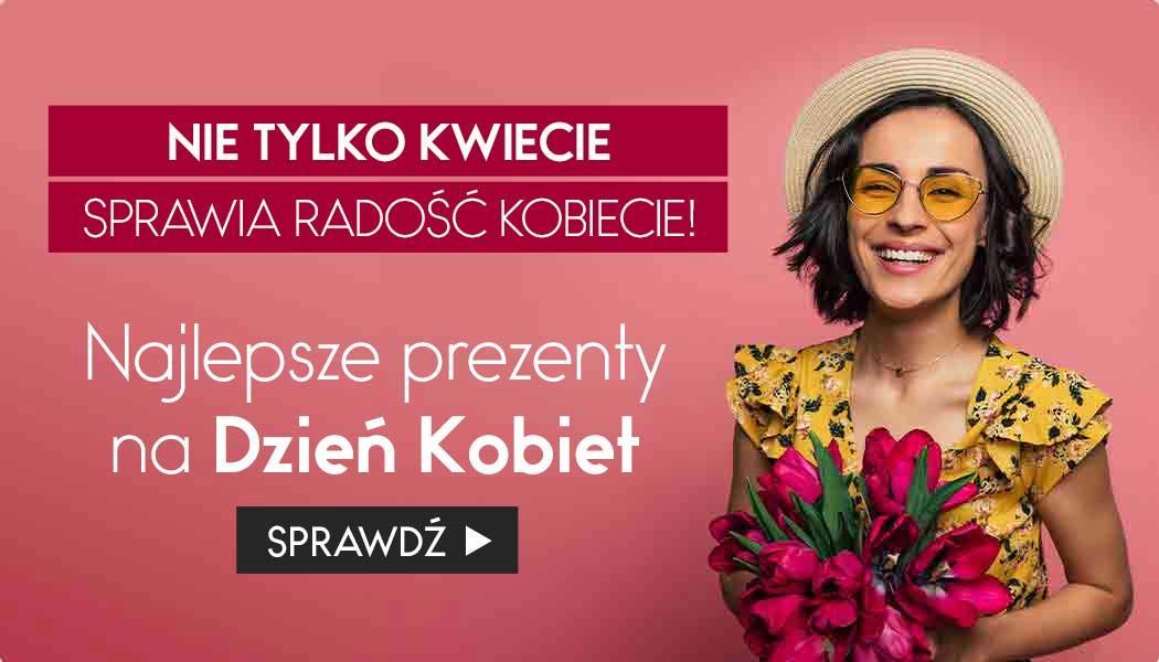 Najlepsze prezenty na Dzień Kobiet Sprawdź na TaniaKsiazka.pl >>