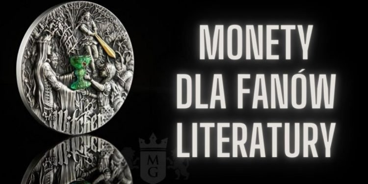 Mennica Gdańska stworzyła monety dla fanów literatury monety dla fanów literatury