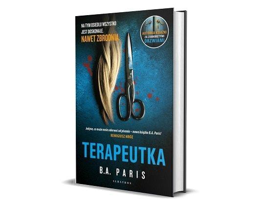 Nowa książka B.A. Paris - Terapeutka - sprawdź w TaniaKsiazka.pl