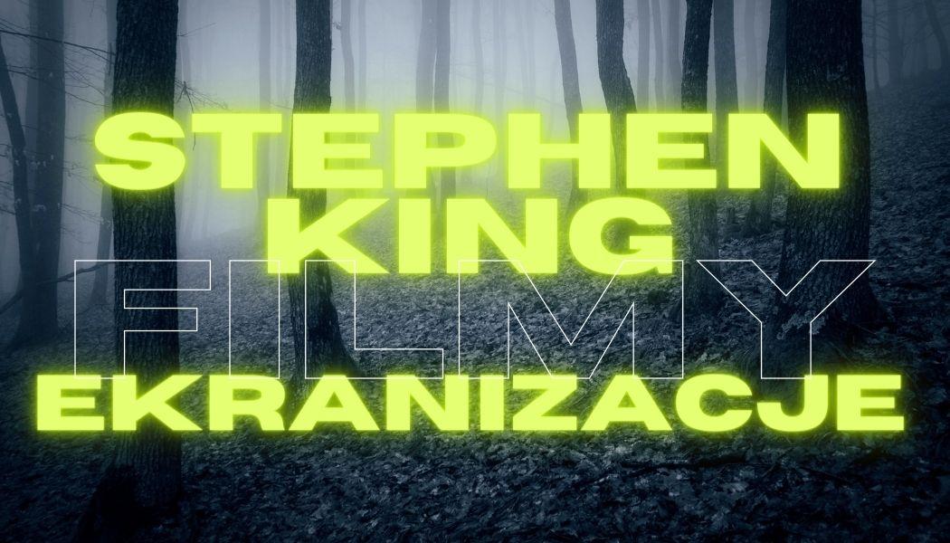 Stephen King ekranizacje - filmy Książek szukaj na TaniaKsiazka.pl >>