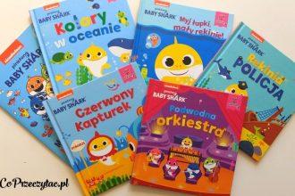 Seria edukacyjnych książeczek dla dzieci Baby Shark