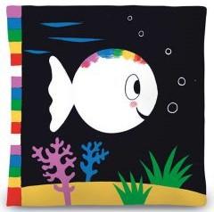 Moja pierwsza biała rybka książeczka sensoryczna Sprawdż na TaniaKsiaka.pl >>