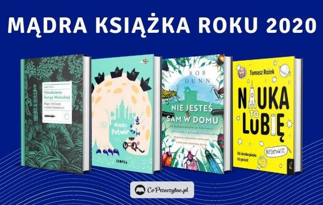 Mądra Książka Roku 2020 - laureaci konkursu!