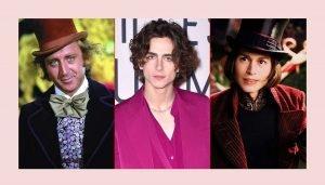 Timothée Chalamet jako młody Willy Wonka!