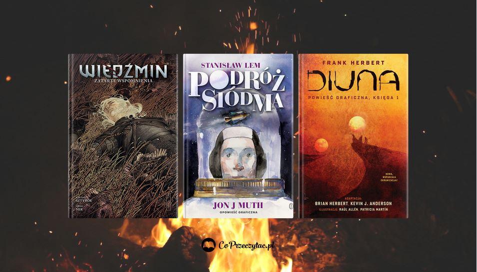Czerwcowe zapowiedzi komiksowe 2021 znajdziesz na TaniaKsiazka.pl