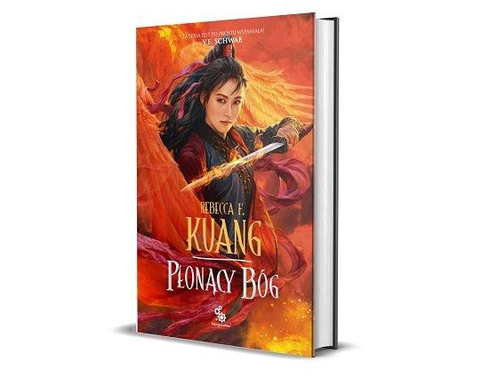 Płonący Bóg - finał serii fantasy Wojna Makowa - okładka książki