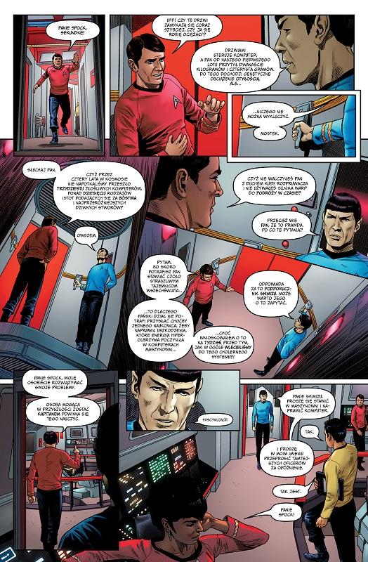 Pierwszy tom serii komiksów Star Trek