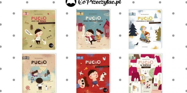 Pucio - zestawienie książek z edukacyjnej serii Pucio