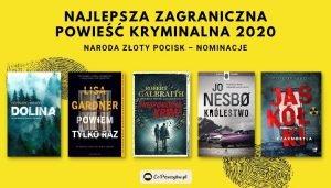 Najlepsza zagraniczna powieść kryminalna 2020