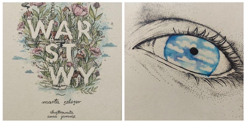 Warstwy Marty Szloser - ilustracje z książki dla dzieci