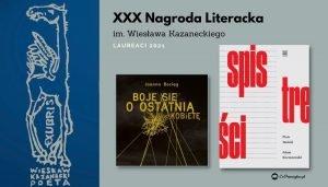 Nagroda Kazaneckiego 2021 - laureaci