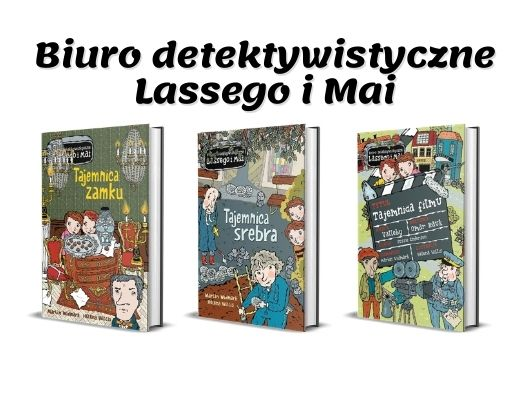 Seria Biuro Detektywistyczne Lassego i Mai