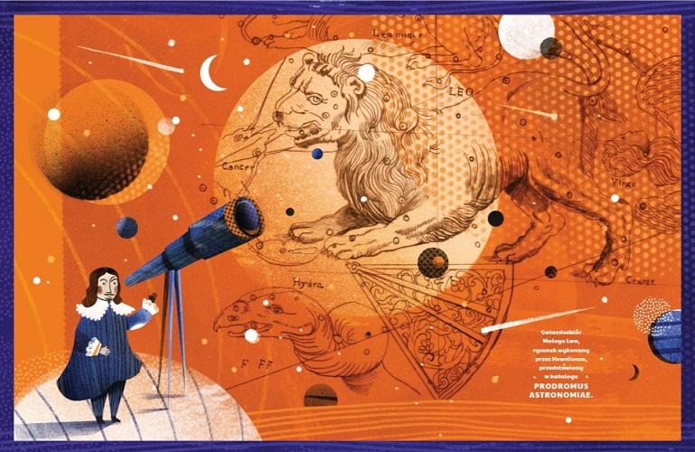 Książka i kosmosie dla dzieci