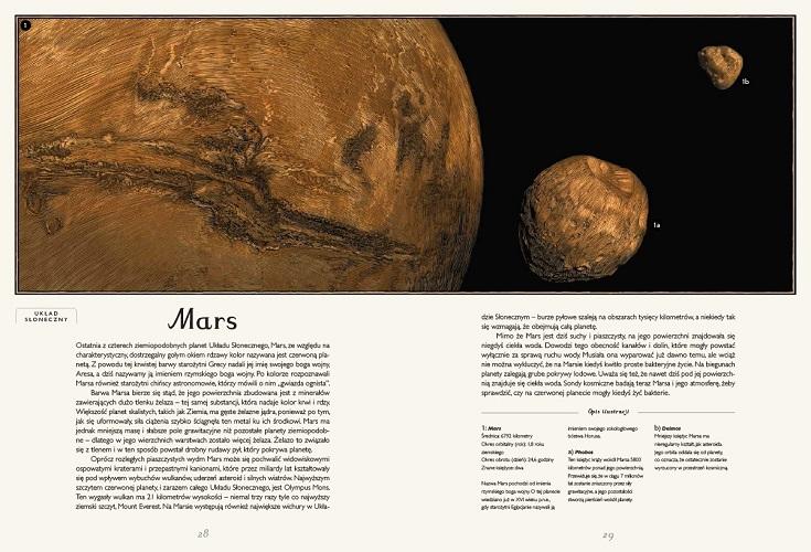 Planetarium: książka o kosmosie dla dzieci i młodzieży