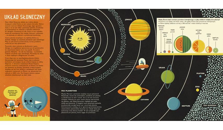 Seria książek dla dzieci o astronomii i kosmosie - Profesor Astrokot