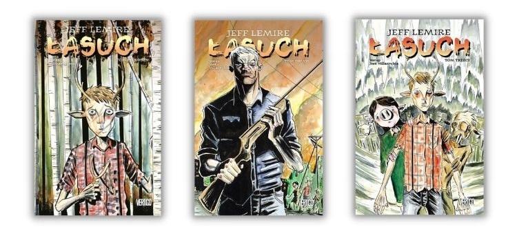 Łasuch seria komiksów DC
