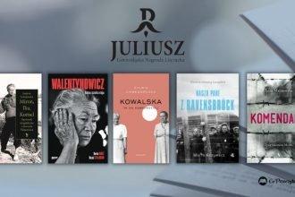 Nagroda Literacka Juliusz 2021 - 5 nominowanych biografii