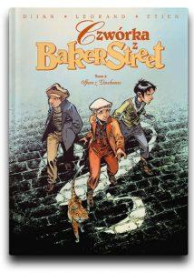 Komiks dziecięcy sierpień 2021: Czwórka z Baker Street znajdziesz na TaniaKsiazka.pl