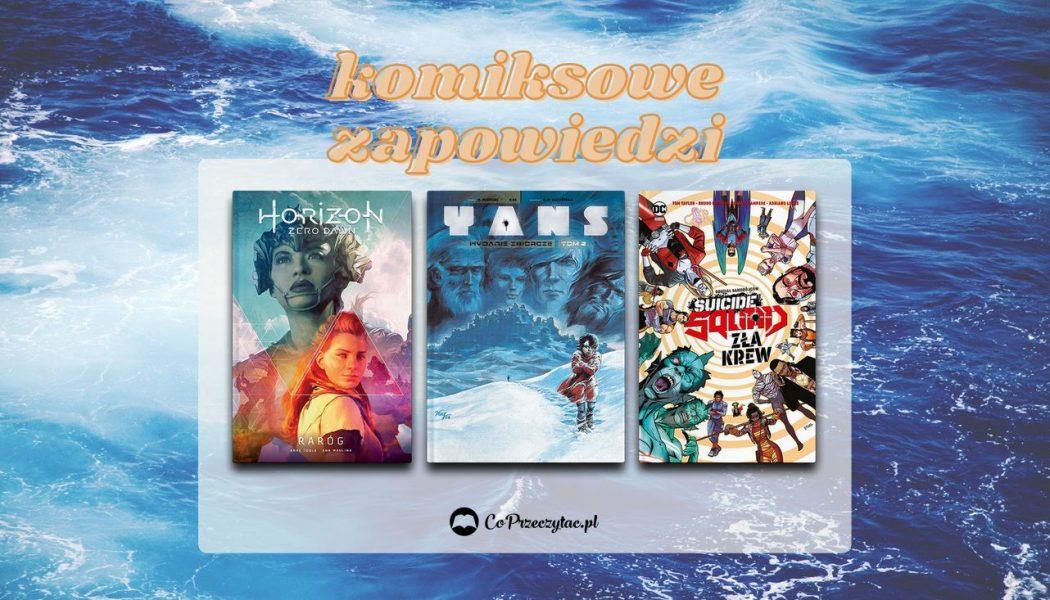 Sierpniowe zapowiedzi komiksowe 2021 znajdziesz na TaniaKsiazka.pl