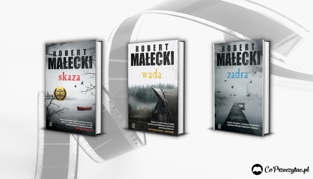 Seria Roberta Małeckiego z komisarzem Grossem - będzie ekranizacja