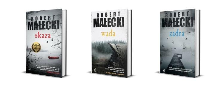 Seria Roberta Małeckiego z komisarzem Grossem - nagradzane polskie kryminały